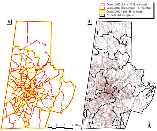 Gis Modeling Of Air Toxics Releases From Tri Reporting And Non Tri