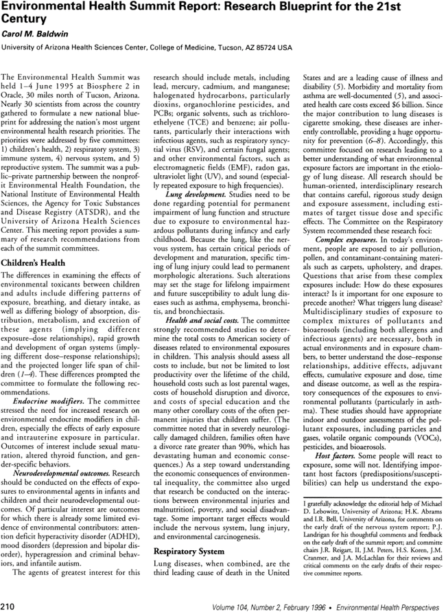 Research article environmental health perspectives vol 104 no 2 first page image malvernweather Image collections