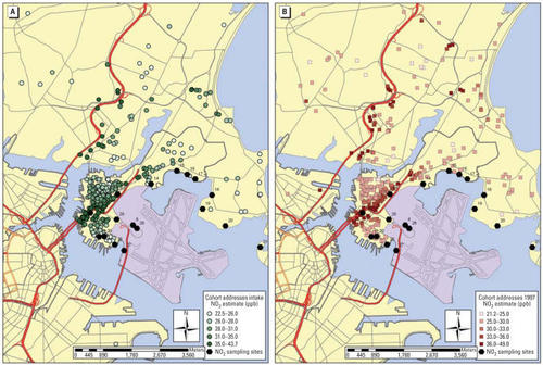 Synergistic Effects of Traffic-Related Air Pollution and Exposure to