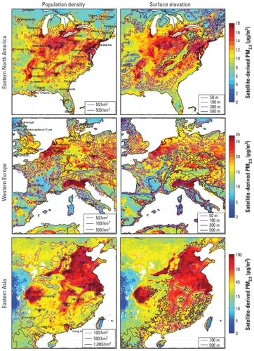 Global Estimates of Ambient Fine Particulate Matter